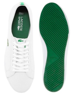 Image 2 ofLacoste Marcel Leather Trainers