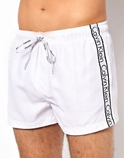Calvin Klein  Logo Tape  Badeshorts