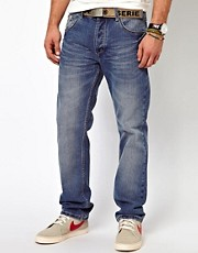 Loyalty &amp; Faith Jeans Straight Leg Light wash