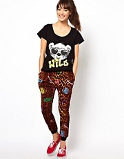 Joyrich Leopard Sweat Pants