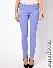 ASOS PETITE Exclusive Skinny Jeans In Purple