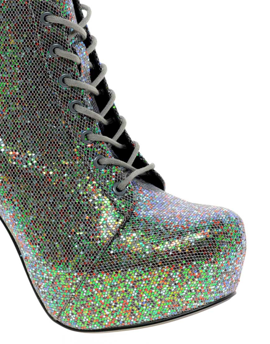 Image 4 of ASOS AREA Platform Ankle Boots