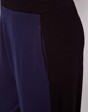 Image 3 ofASOS Peg Trouser in Colourblock