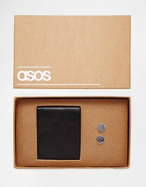 ASOS Gift Set With Cufflinks and Wallet