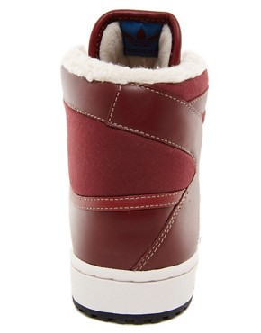 Image 2 ofAdidas Originals Decade Shearling Lined Trainers