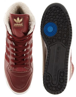 Image 3 ofAdidas Originals Decade Shearling Lined Trainers