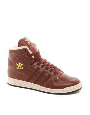 Image 1 ofAdidas Originals Decade Shearling Lined Trainers
