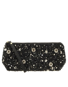 Image 1 ofASOS Beaded Clutch
