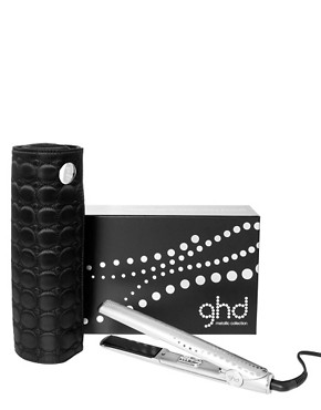 Image 1 ofghd Metallic Styler Silver