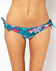 Oasis Tropical Print Bikini Bottom