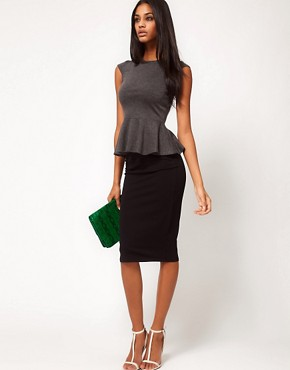 Image 1 ofASOS Pencil Skirt in Jersey