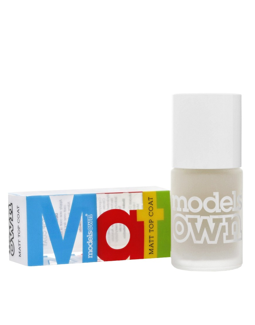 Models Own Matt Topcoat Polish