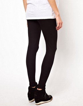 Image 2 ofASOS Maternity Full Length Soft Touch Leggings
