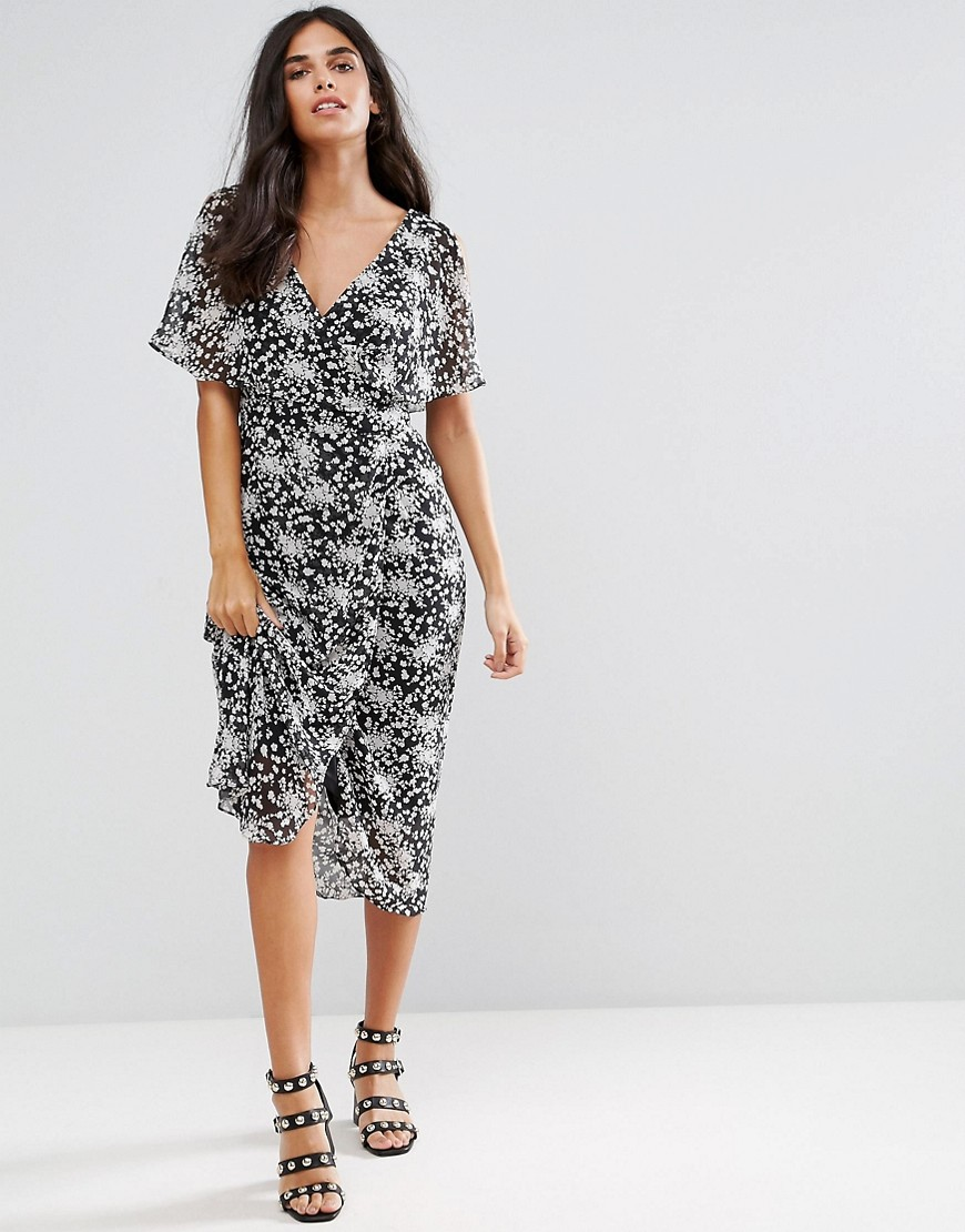 Rage Ditsy Floral Maxi Dress