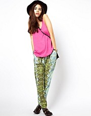 ASOS Africa Printed Trouser in Loose Fit