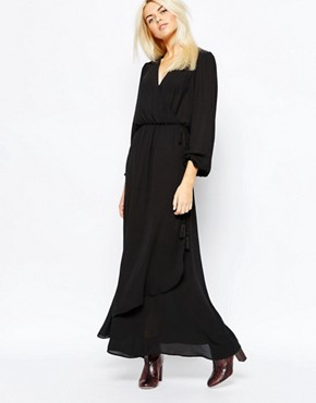 Monki Wrap Front Dress