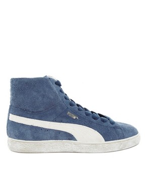 Image 4 ofPuma Suede Mid Trainers