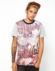 55DSL T-Shirt Underwater Forest Paradise Print