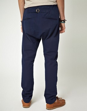 Image 2 ofASOS Tapered Canvas Chino