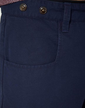 Image 3 ofASOS Tapered Canvas Chino