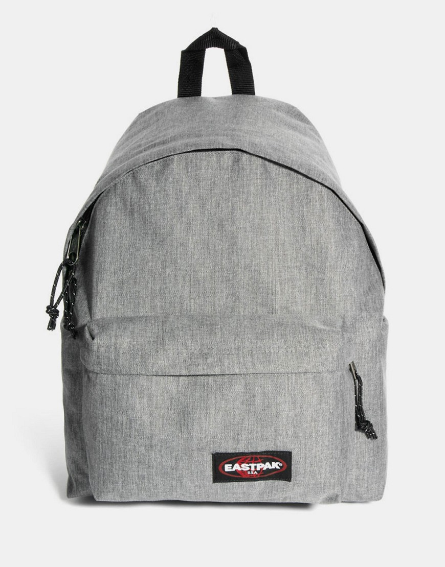 Eastpak Padded Pak R Leather Backpack In Black For Men: Eastpak Padded Pak'R Backpack At ASOS