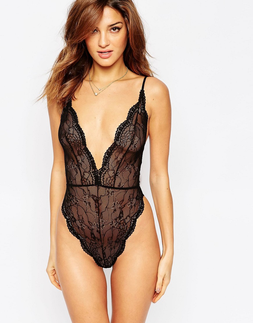 Image 1 of ASOS Bobbi Lace Up Back Body