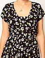 Image 3 ofASOS CURVE Tea Dress In Floral Print