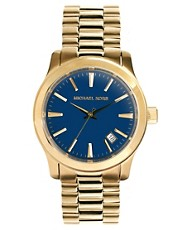 Michael Kors MK7049 Runway Gold Watch