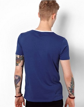 Image 2 ofASOS T-Shirt With Graduated Print