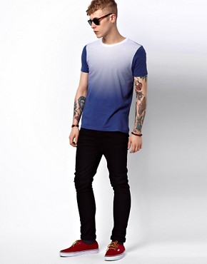 Image 4 ofASOS T-Shirt With Graduated Print