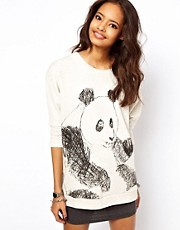 ASOS Jumper with Sketchy Panda