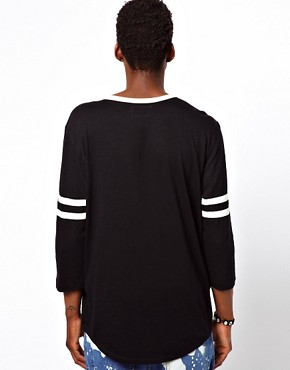 Image 2 ofAltamont 3/4 Sleeve Top Henley