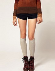 Gipsy Cable Over The Knee Socks