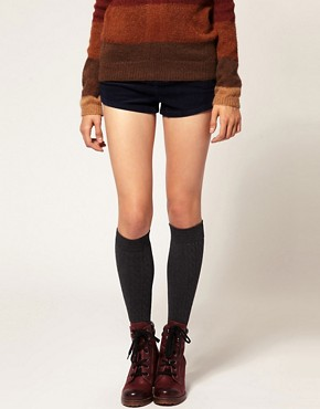 Image 1 of Gipsy Cable Over The Knee Socks
