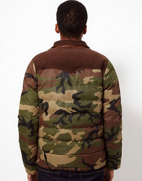 Image 2 ofBellfield Camo Jacket