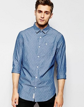 Original Penguin Small Print Logo Shirt