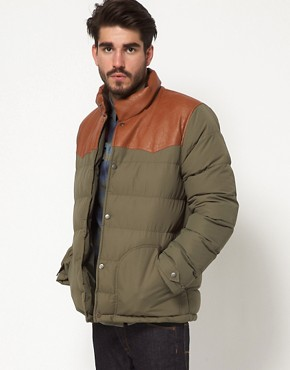 Image 1 ofASOS Quilted Jacket