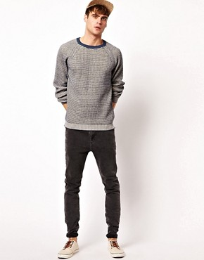 Image 4 ofRiver Island All Over Textured Jumper