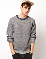 River Island All Over Textured Jumper