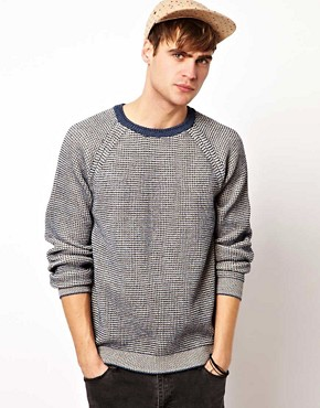 Image 1 ofRiver Island All Over Textured Jumper