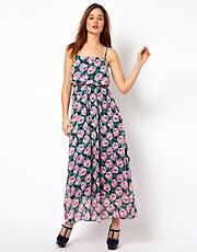 The Style Floral Maxi Dress