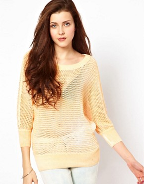 Image 1 ofVero Moda Over Dye Jumper