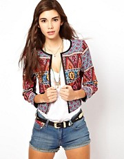 Chaqueta estampada Habernera de ASOS