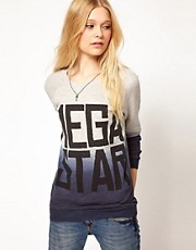 River Island Mega Star Sweat Top
