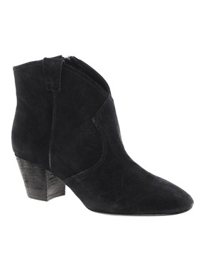 Image 1 ofAsh Jalouse Spiral Black Western Boots