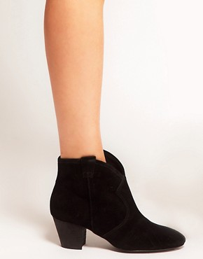 Image 4 ofAsh Jalouse Spiral Black Western Boots