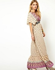 Pepe Jeans Kimono Maxi Dress