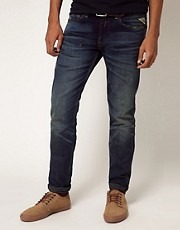 Replay Jeans Jeto Laserblast Low Rise Slim Fit