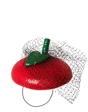 Image 2 ofASOS Apple Fascinator Hat