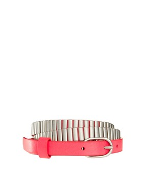 Image 1 ofMaison Scotch Metal Detail Belt